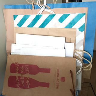 【無料】紙袋たくさん