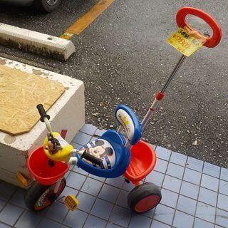 ID:G954535 子供用三輪車(ミッキーマウス)汚れが落ちな...