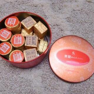 本場 中国雲南省のプーアール茶 キューブ型