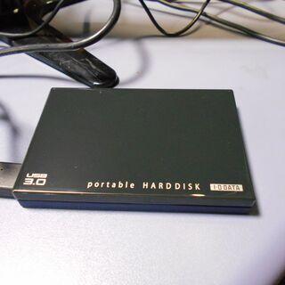 ポータブルハードディスク④ 1TB 中古 使用時間約715時間