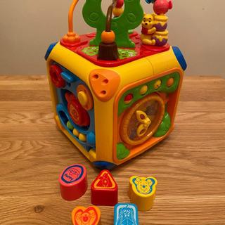 知育玩具 プーさんの画像