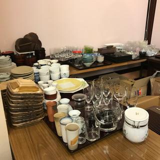 山盛り食器グラスその他調理器具