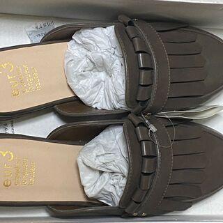 eur3 合成皮革 靴 LL ほぼ未使用品