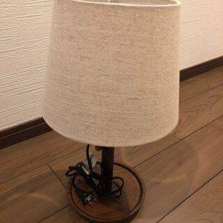 【ニトリ】テーブルランプ ナチュラ3 PLS(ナチュラル)