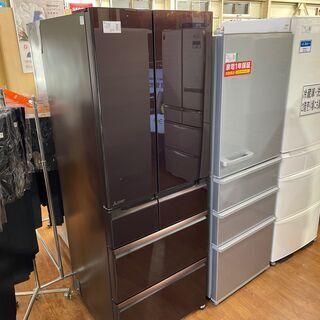 ミツビシ 6ドア冷蔵庫 525L  2015年製 MR-W…