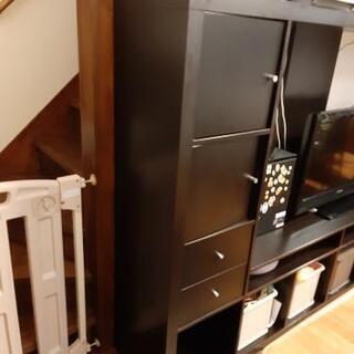 値下げ IKEA イケア テレビボード EXPEDITEシリーズ ブラック - 川越市