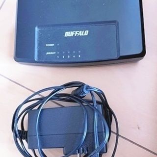 ◆BUFFALO バッファロー/5ポート スイッチングハブ/LS...
