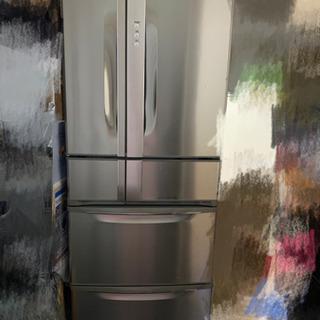 シャープ冷蔵庫(ジャンク品、上部しか使えません)