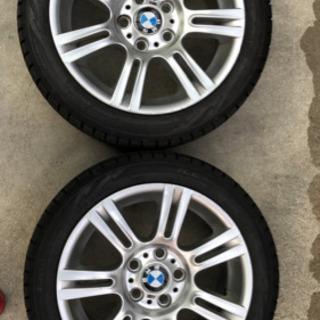 BMW スタッドレス、ホイルセット
