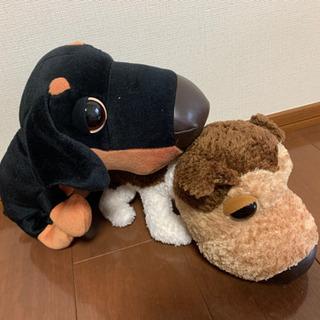 【手渡し・値下げ】THE DOGのぬいぐるみ