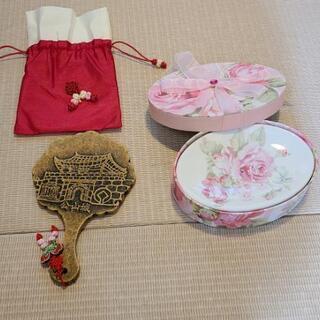 韓国、お香立て&公山城の手鏡