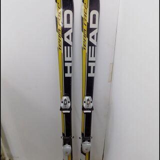 新札幌発 HEAD ヘッズ チームレース スキー板 140㎝ 黒...
