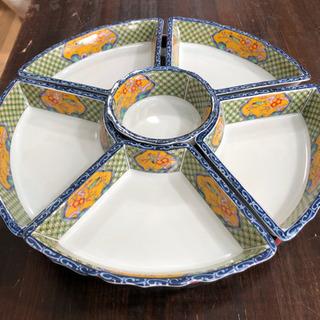 未使用品 ターンテーブル オードブル  盛り付け 皿 小分…