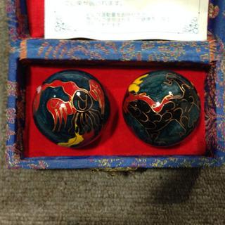 中国伝統工芸  健心球 ジャグリング 指先の運動