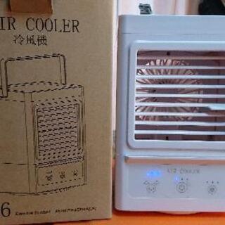 冷風機ミストで涼しく首降りもバッテリー内蔵
