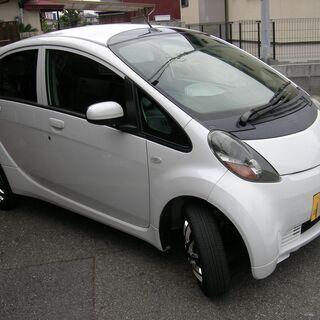 三菱 アイ 平成19年式 白色 96,200キロ 車検R4,4月...