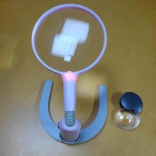 拡大鏡 虫メガネ スタンド型、携帯型2個セット