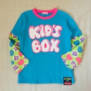 KID'S BOX / 重ね着風長袖カットソー / 120サイズ