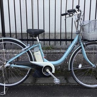 <動作>ヤマハ・PAS電動アシスト自転車・3段変速 LED…