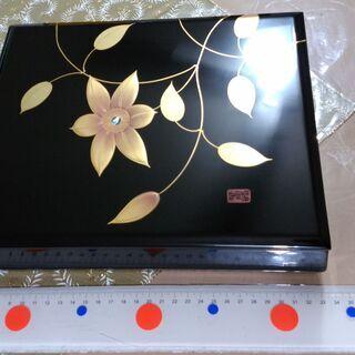 ★無料★【条件付】 木製漆器 文箱 <転売可能>