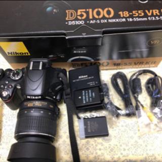 Nikon D5100 18-55mm 1:3.5-5.6 レン...