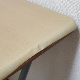 折り畳みテーブル 椅子セット(お話中) - 家具