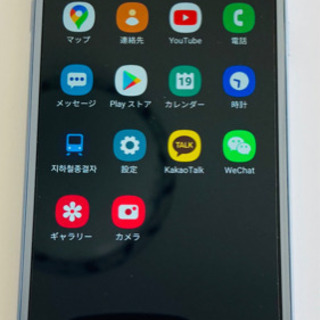 美品Galaxy J3 シルバー 16GB