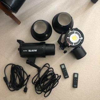 godox SL-60W 撮影用LEDライト 2灯セット