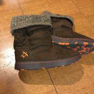 OP ブーツ 21.0センチの画像