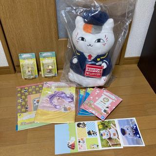 一番くじ 夏目友人帳 ニャンコ先生と春の旅 6種セット+ポストカード付