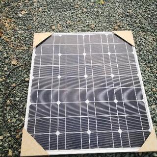 単結晶 ソーラーパネル 50w
