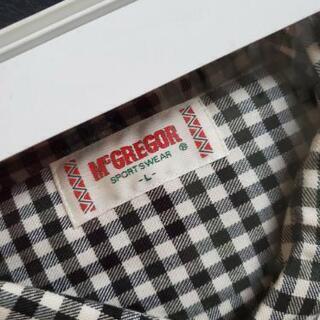 【ネット決済・配送可】【譲ります】マクレガー 新品未使用 シャツ