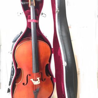 【ネット決済】弦楽器チェロ 中国製 ラベルなし