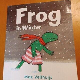 英語えほん Frog in winter