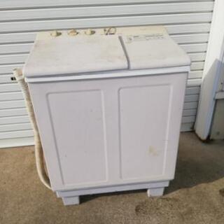 二層式洗濯機あげます❗