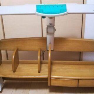 学習机の棚(照明付き)