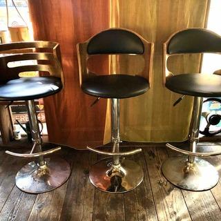 バーカウンター椅子 3脚 *カウンターチェア*ハイチェア