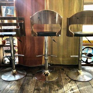 バーカウンター椅子 3脚 *カウンターチェア*ハイチェア - 大阪市