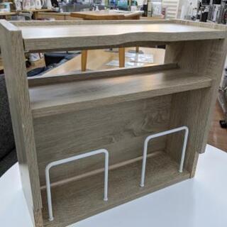 【展示品・未使用品】ルーター収納付 収納棚 サイドテーブル…