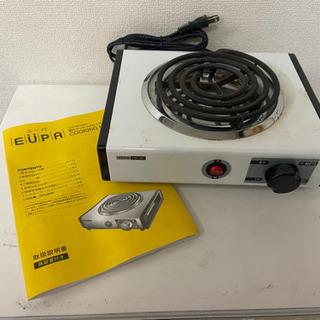 中古 ユーパ 電気クッキングヒーターTSK-881(電1-11)