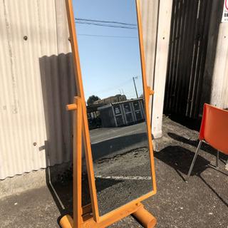 姿見 鏡 木製