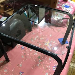 末広店 ガラス テーブル