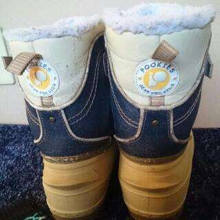 完売お礼★バラ売り希望品☆プーキーズスノー靴&キスマーク靴下 - スポーツ