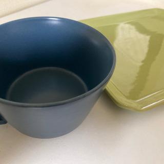 プレート、スープカップ2/19昼までの画像