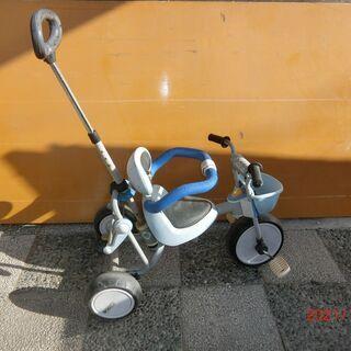 三輪車(大人ガイドハンドル付き)