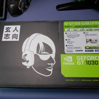 グラフィックボード 玄人志向 GT1030  動作品