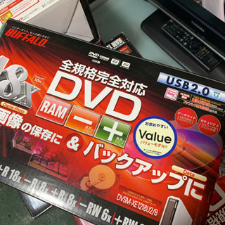 BUFFALO DVDRAM USB2.0 中古 大量入荷