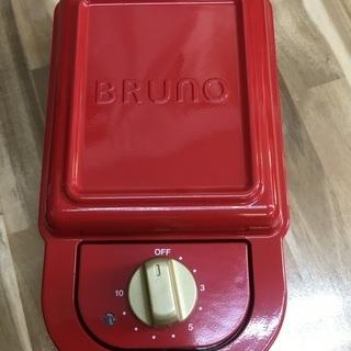 BRUNO/ブルーノ 耳ごと焼けるタイマー式ホットサンドメーカー...