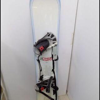 新札幌発 ロシニョール スノーボード板 140㎝ フリース…