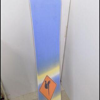 新札幌発 ロシニョール スノーボード板 140㎝ フリースタイル ビンディング付 - 売ります・あげます